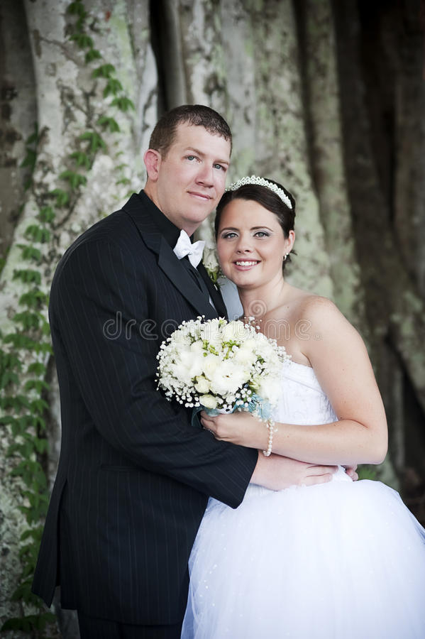 groom невесты стоковое фото rf