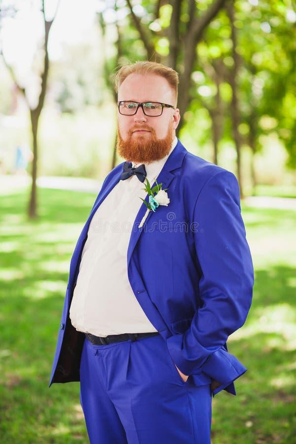 groom стильный стоковое изображение rf