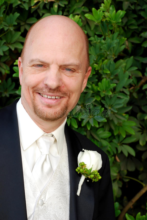 Download Groom stock image. Image of outside, green, bald, aged - 12320381
