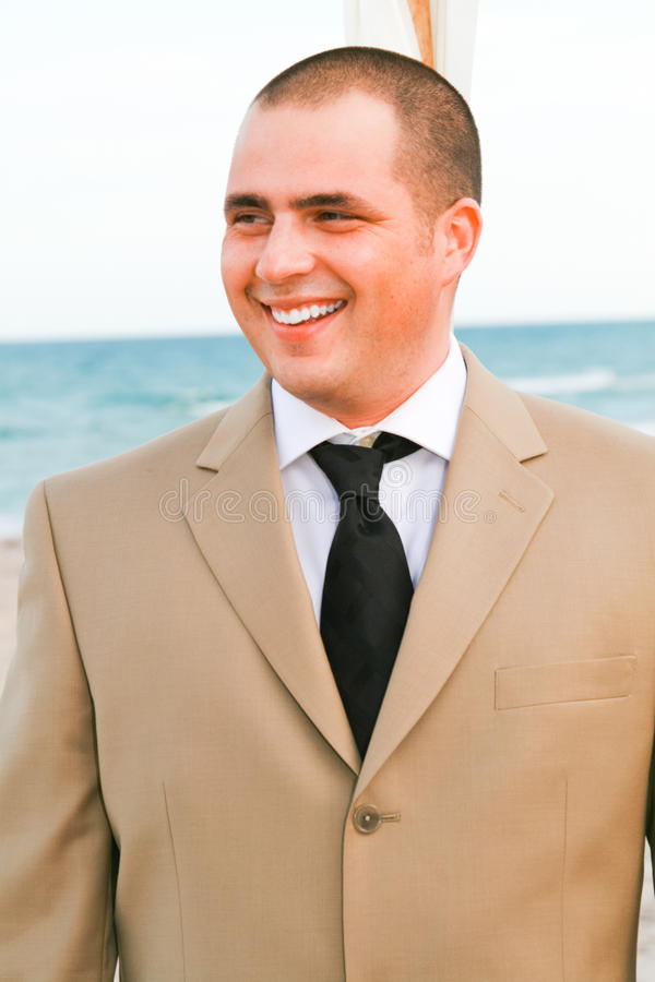 The Groom stock photography