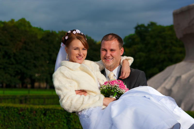 Download Groom and bride stock image. Image of veil, holding, male - 23641101