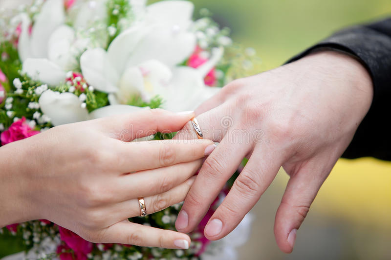 the groom and the exchange wedding rings image of happiness love 21831052