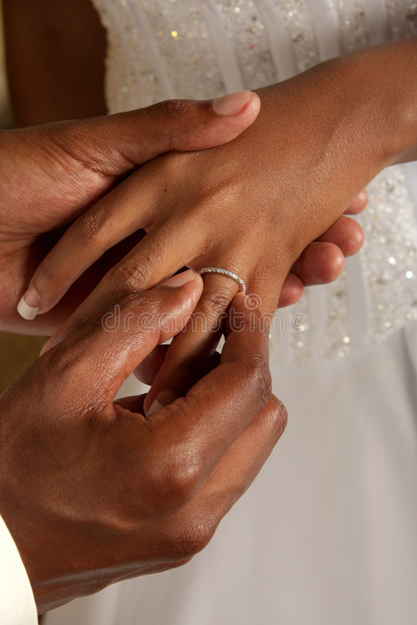 Groom Commitment Royalty Free Stock Image