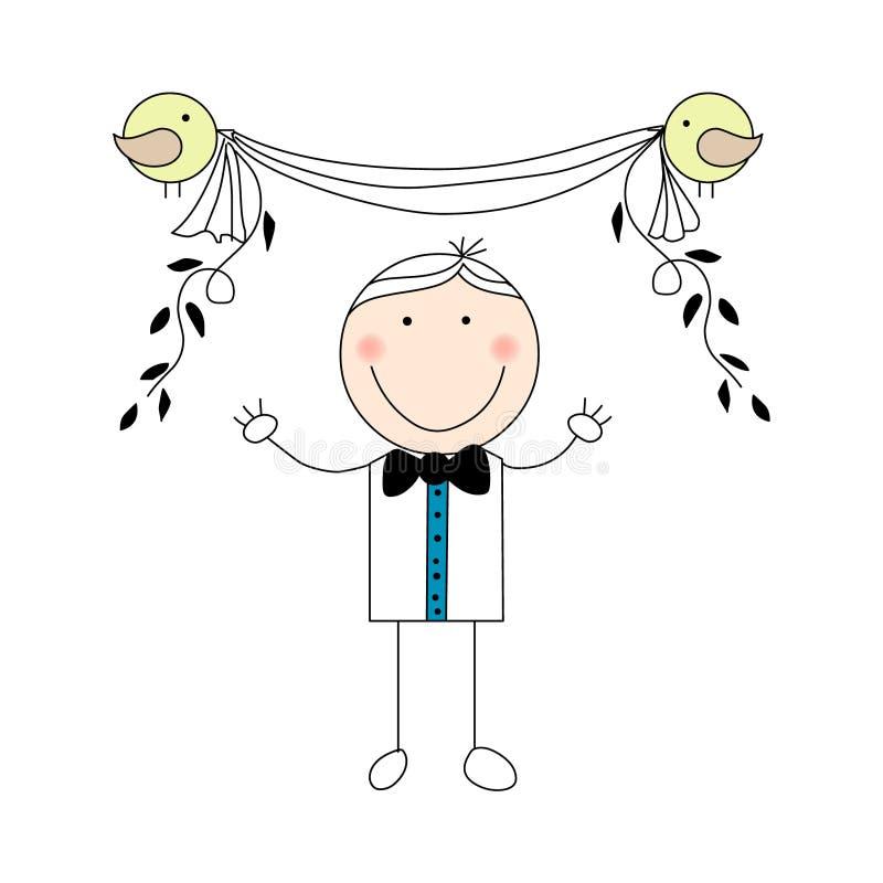 groom doodle бесплатная иллюстрация
