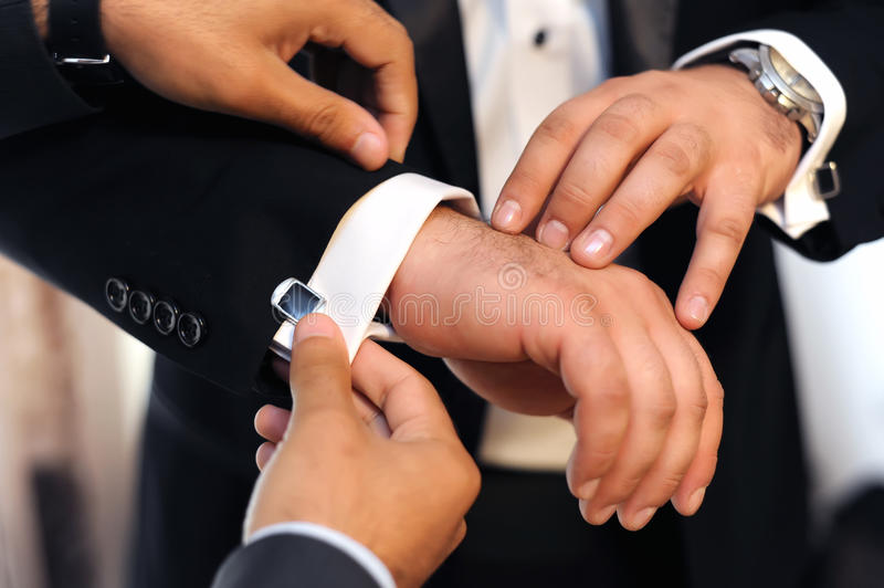Download Groom getting ready stock photo. Image of corporate, help - 22553724