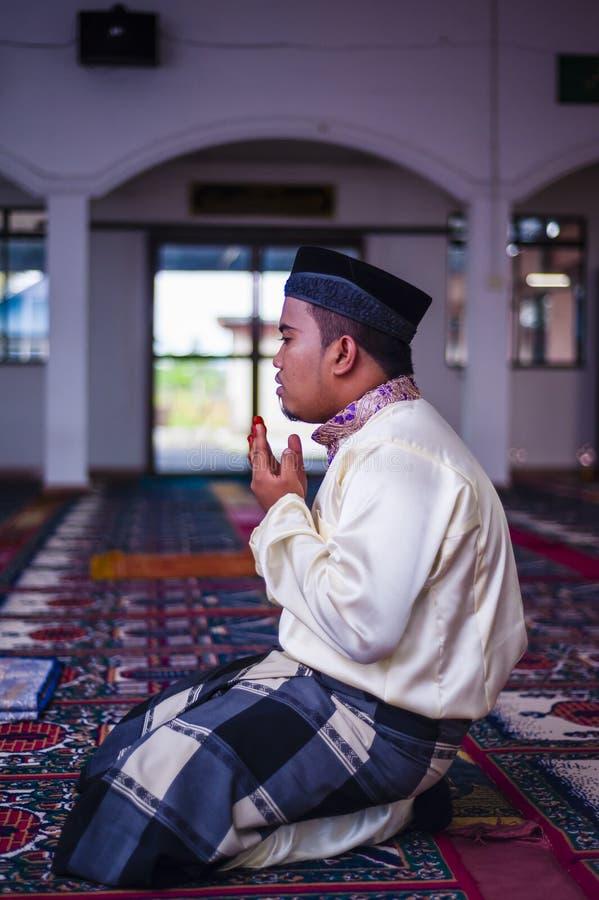 The Groom Praying stock image