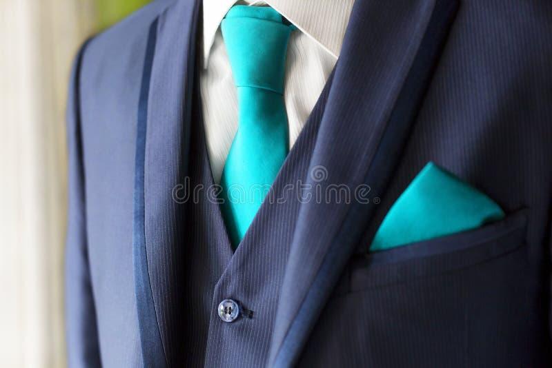 Groom with tuxedo royalty free stock image