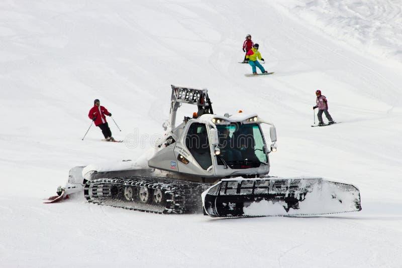 Groomer снега стоковые фото