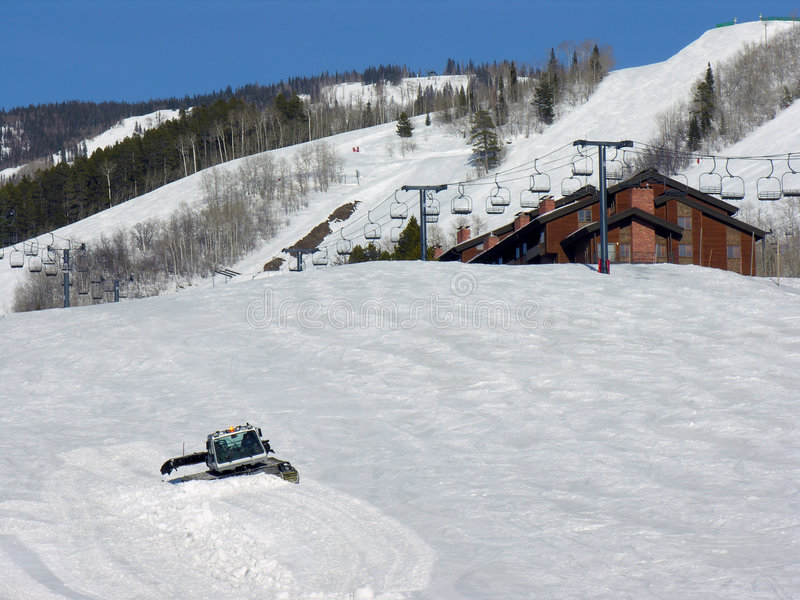 Download Grooming The Slopes Stock Photo - Image: 3717100