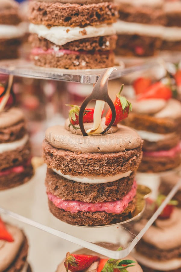 Download Grooms cake 2 stock image. Image of cocoa, decoration - 83709003