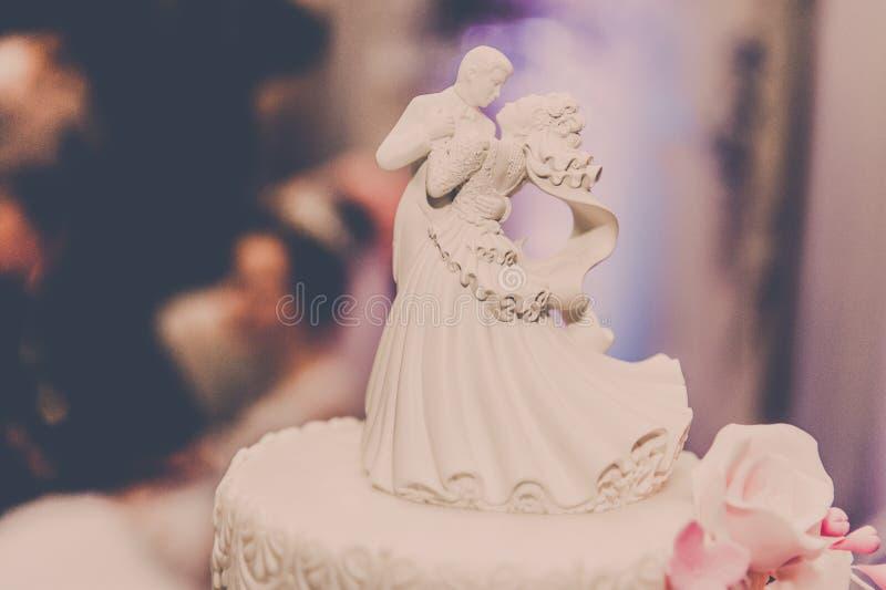Grooms. Cake. Wedding. stock image
