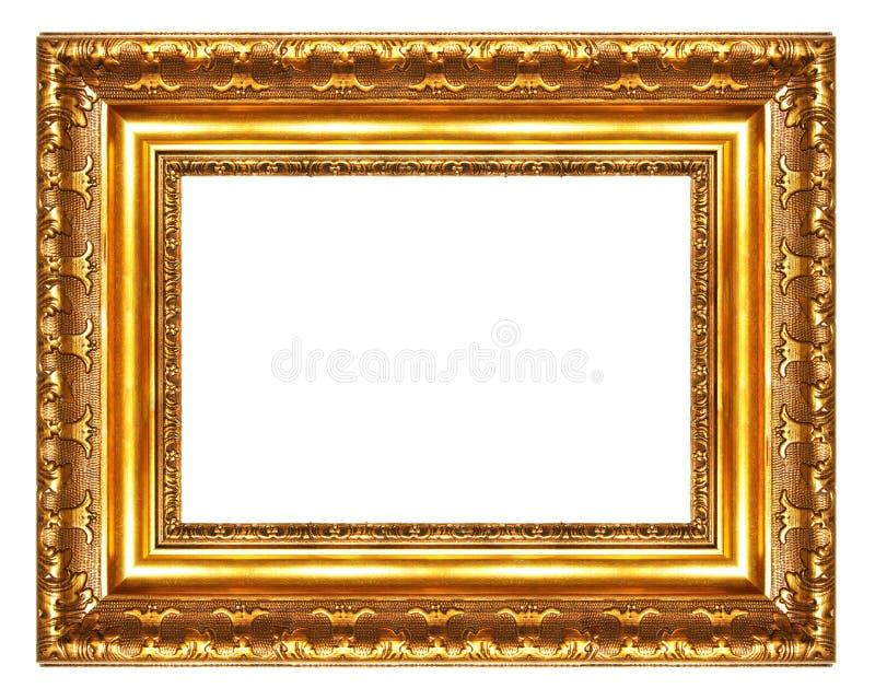 Groot antiek frame stock fotografie