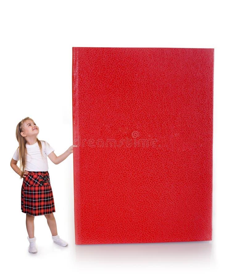 Groot boek stock foto