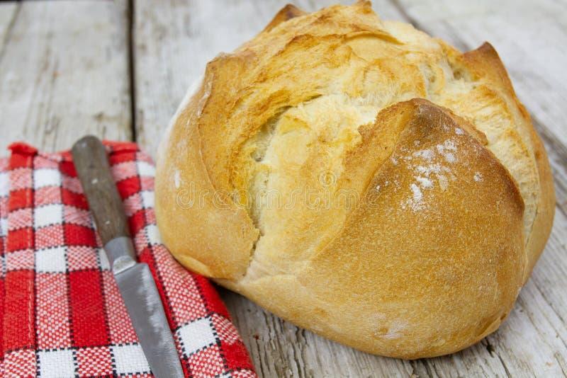 Groot brood royalty-vrije stock afbeelding