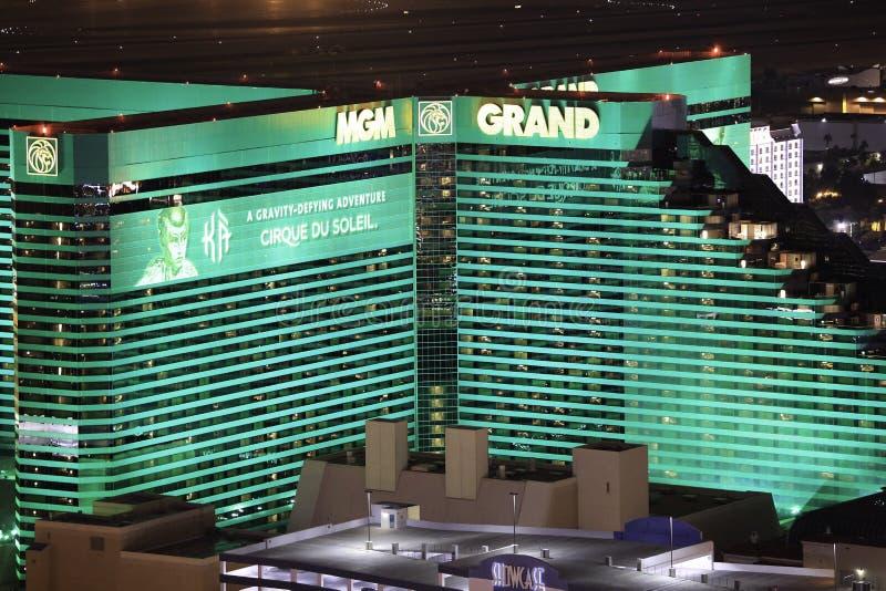 Groot Casino MGM en Hotel stock foto