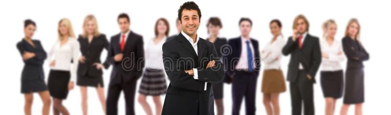 Groot commercieel team royalty-vrije stock foto