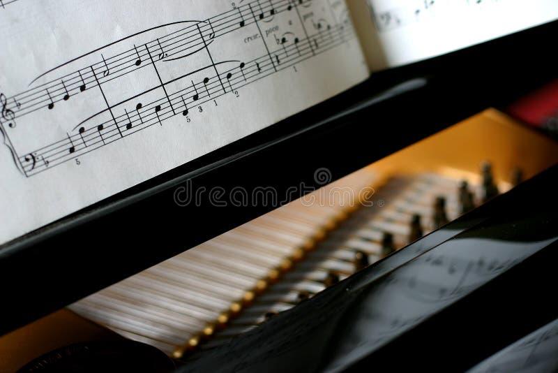 Groot de pianodetail van de baby royalty-vrije stock afbeeldingen