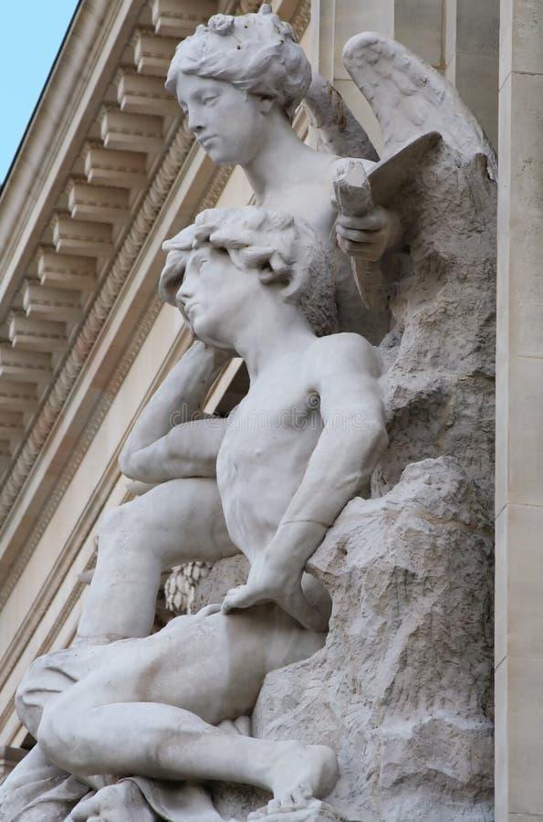 Groot Detail Palais royalty-vrije stock fotografie