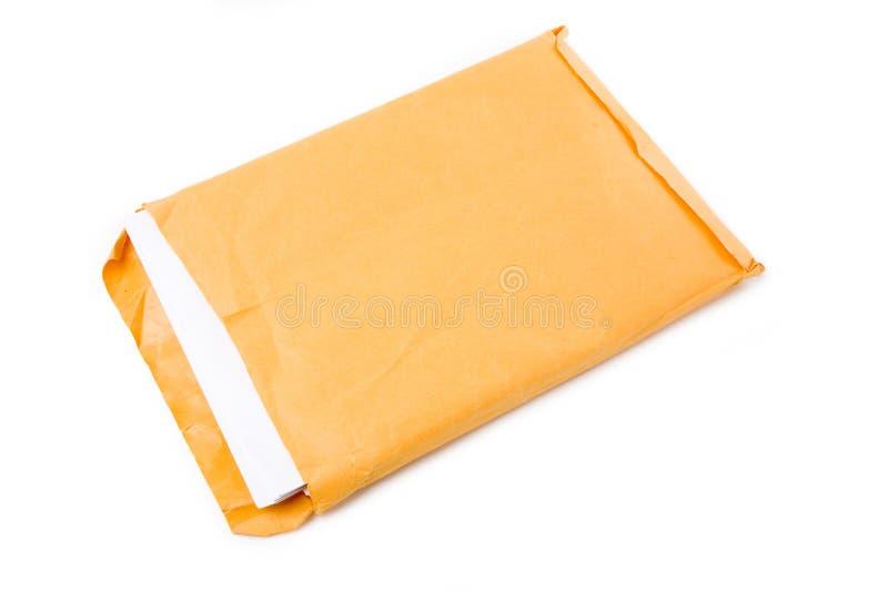 Groot envelop en document royalty-vrije stock foto's