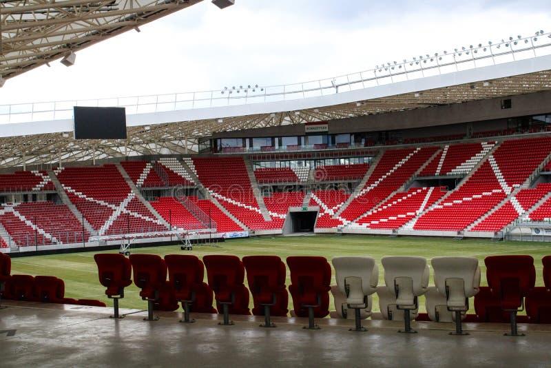 Groot Forest Stadium in Debrecen royalty-vrije stock afbeeldingen