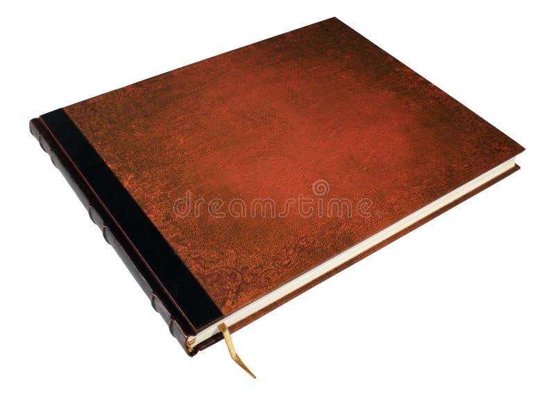 Groot geïsoleerdt boek royalty-vrije stock foto