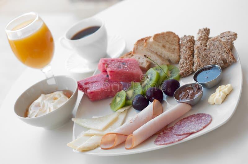 Groot gezond ontbijt royalty-vrije stock foto