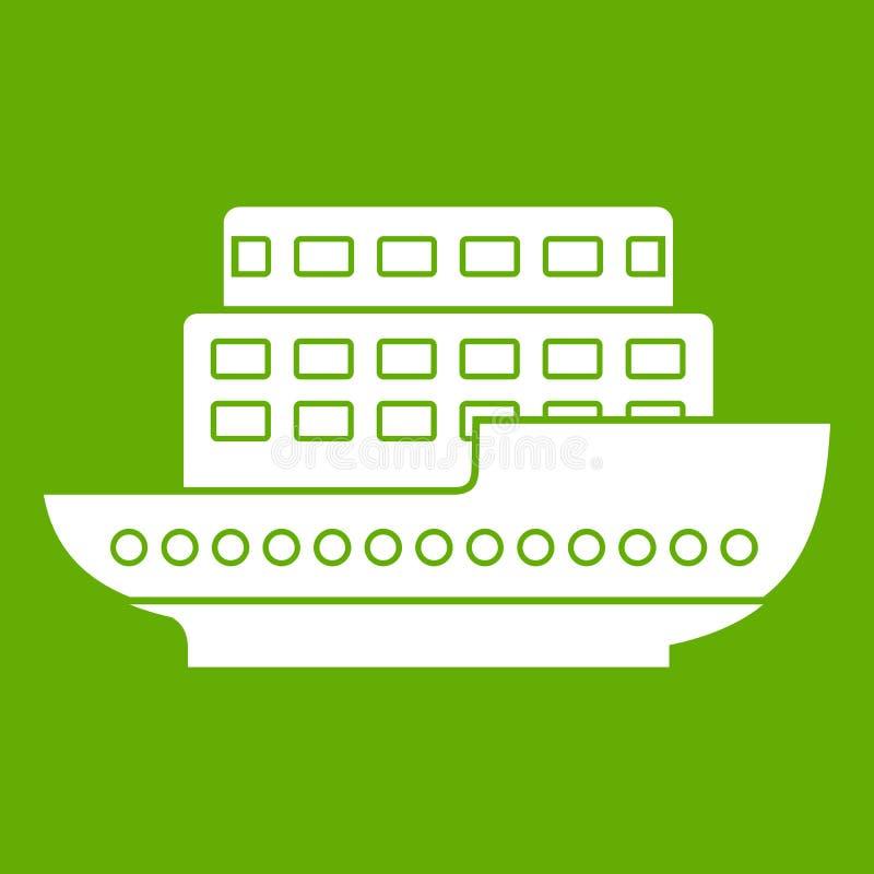 Download Groot Groen Passagiersschippictogram Vector Illustratie - Illustratie bestaande uit snelheid, ontwerp: 107708007