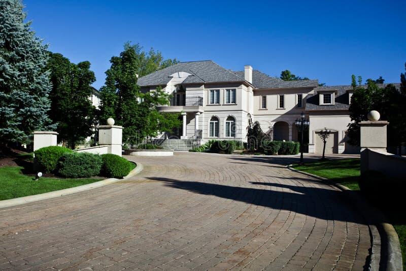 Groot Huis royalty-vrije stock foto