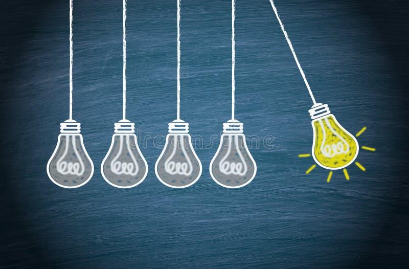 Groot Idee en Innovatieconcept stock illustratie