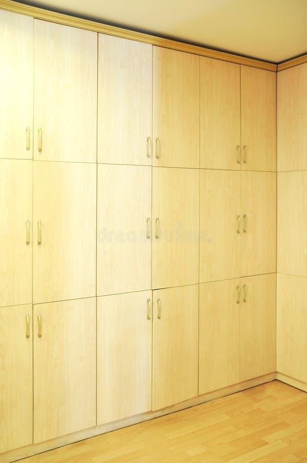 Groot kabinet stock fotografie