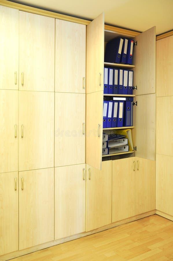 Groot kabinet stock afbeeldingen