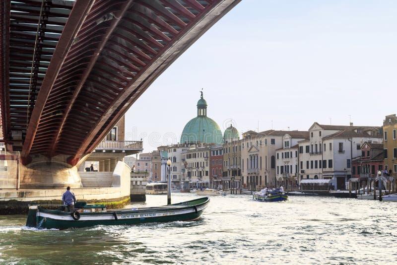 Groot Kanaal, Venetië royalty-vrije stock foto's