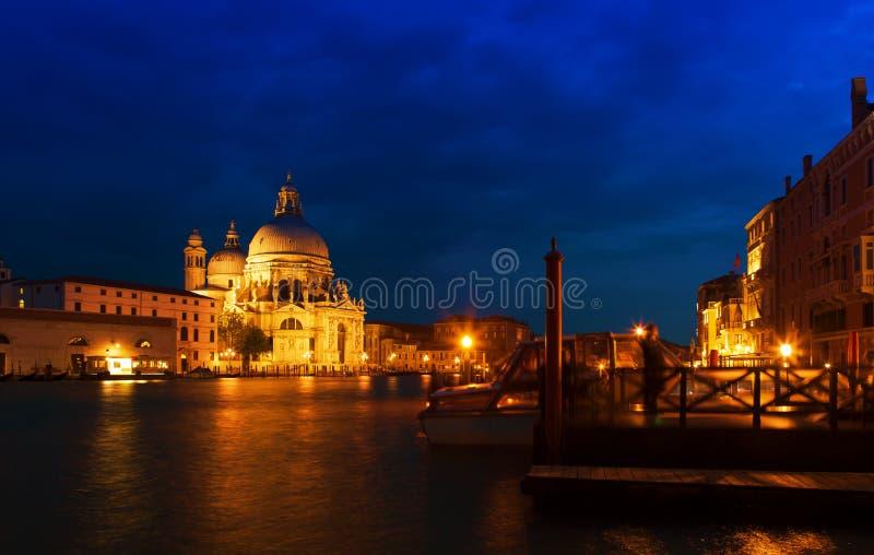 Groot kanaal, Venetië royalty-vrije stock afbeeldingen