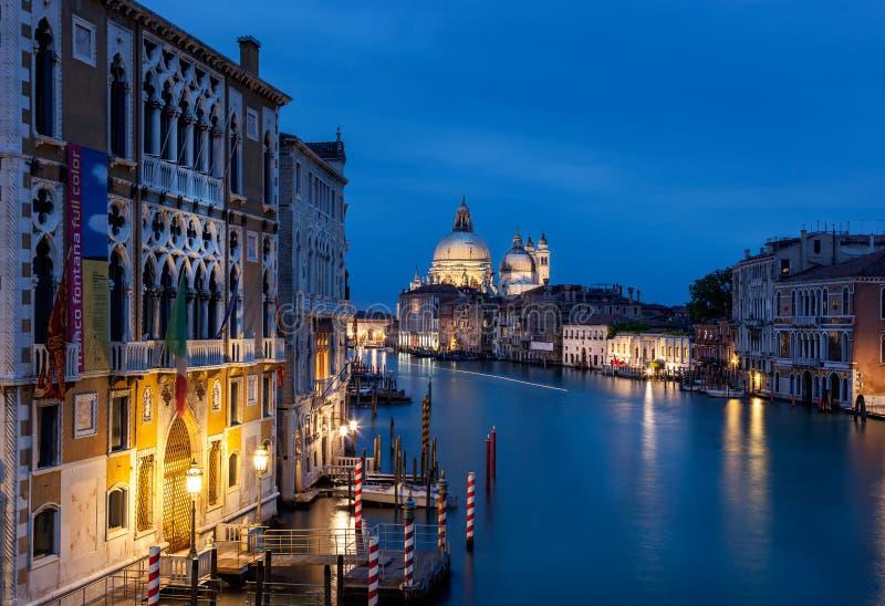Groot kanaal Venetië Italië stock foto