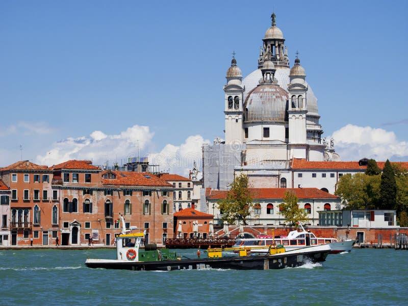 Groot kanaal, Venetië, Italië stock afbeeldingen