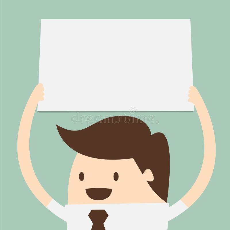 Groot leeg document vector illustratie