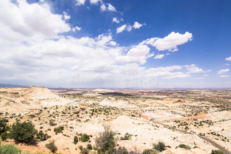 Groot Nationaal Monument trap-Escalante stock fotografie