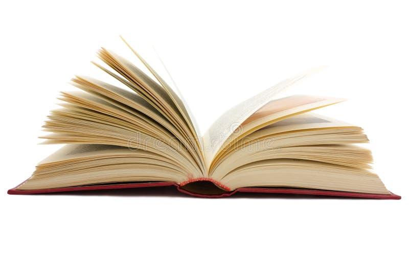 Groot open boek royalty-vrije stock foto