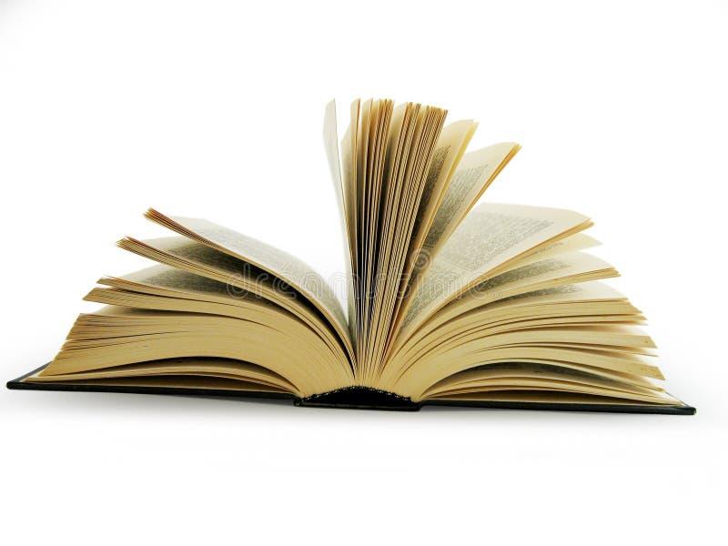 Groot open boek royalty-vrije stock fotografie