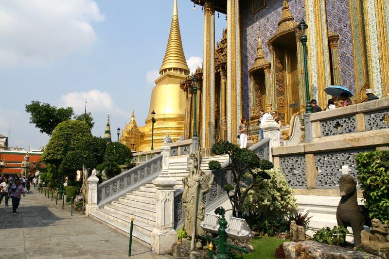 Groot Paleis in Bangkok royalty-vrije stock foto's