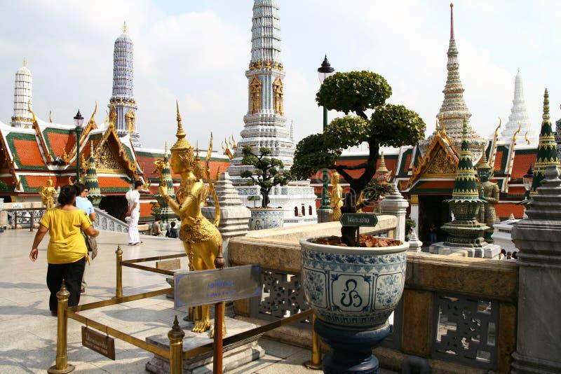 Groot Paleis in Bangkok stock afbeeldingen