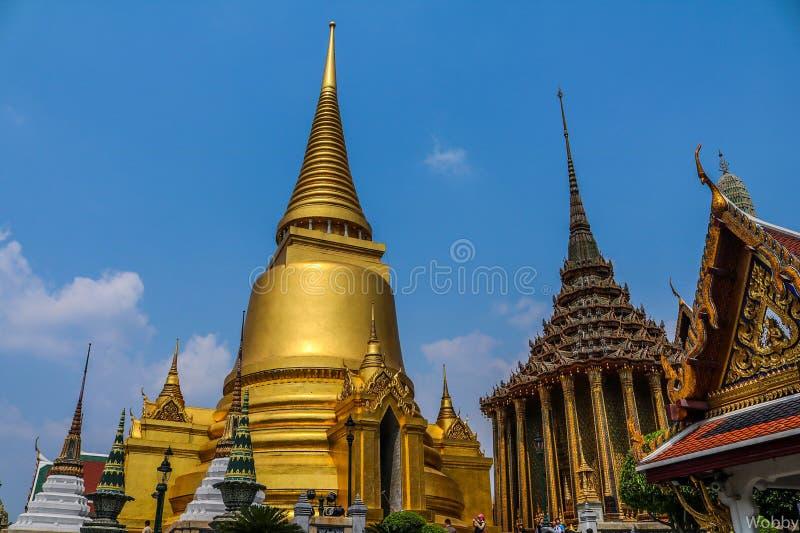 Groot paleis in Bangkok Thailand stock fotografie