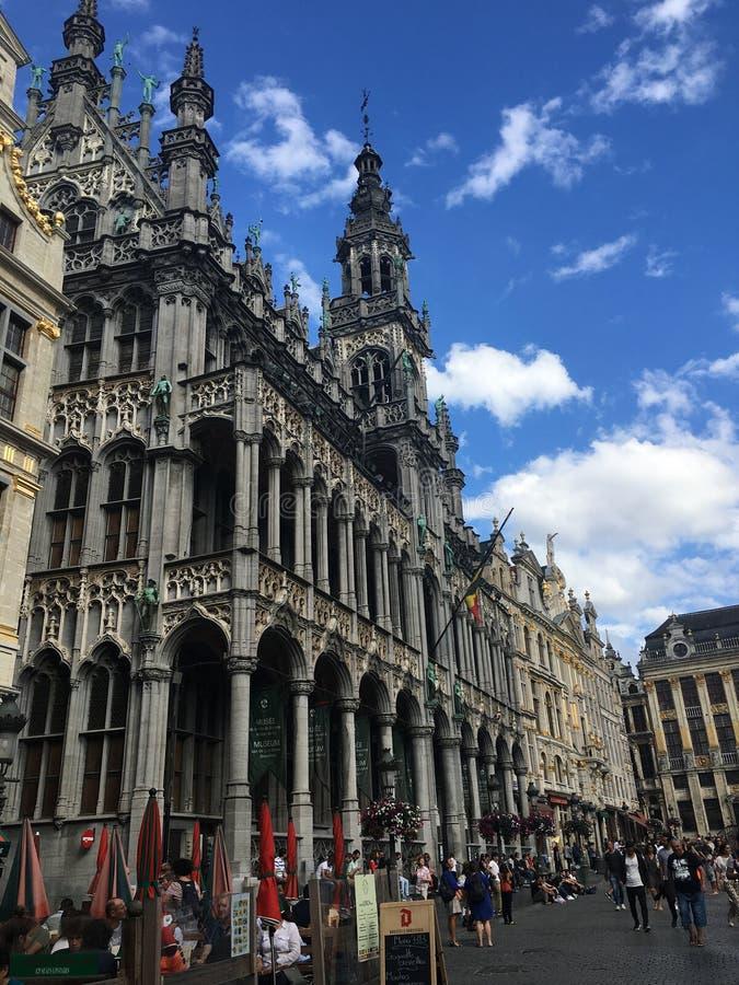 Groot Paleis, Brussel stock foto's