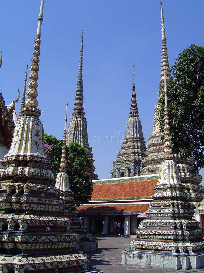 Groot Paleis - Thailand Stock Foto