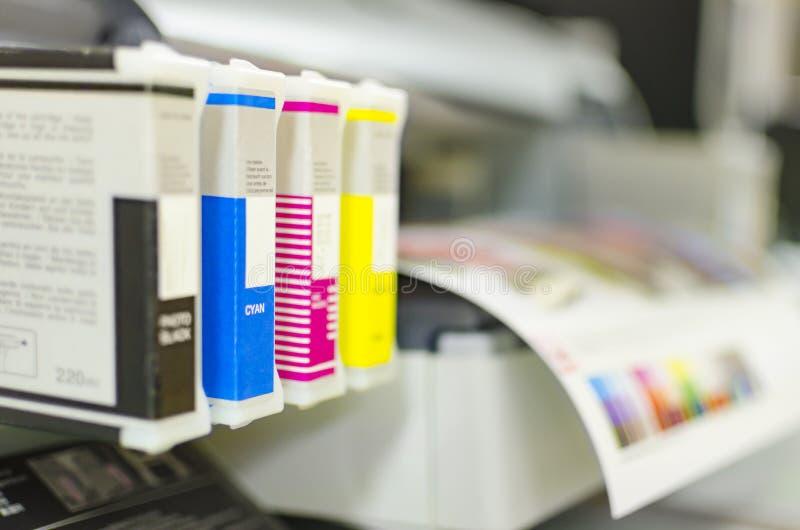 Groot printerformaat Inkjet royalty-vrije stock afbeelding