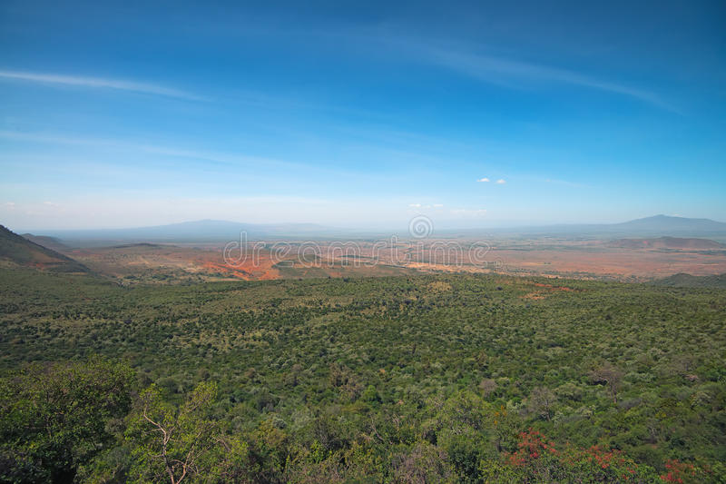 Groot Rift Valley royalty-vrije stock fotografie