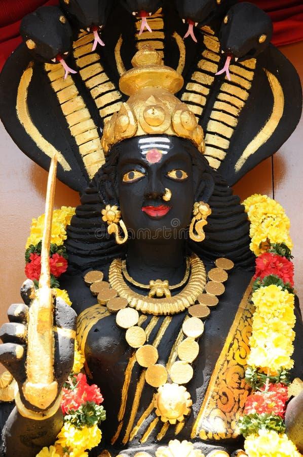 Groot standbeeld van de God Shiva van India stock foto's