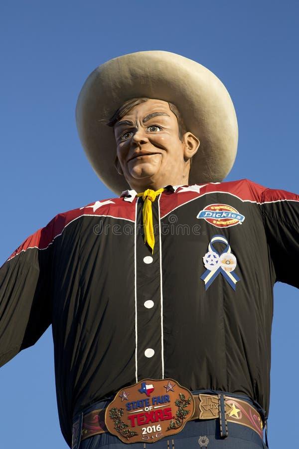 Groot Tex bij de Markt van de Staat van Texas Dallas royalty-vrije stock foto's