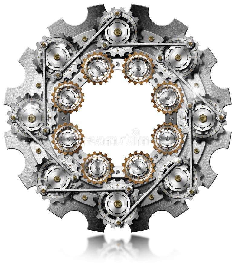 Groot Toestel met Kleine Toestellen vector illustratie
