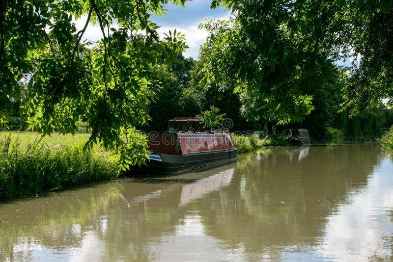 Groot Unie Kanaal, Northamptonshire, het UK stock fotografie